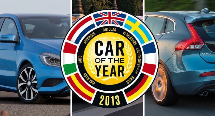 Årets Bil 2013 – här är finalisterna